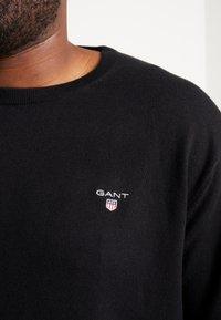 GANT - CREW - Jumper - black - 4