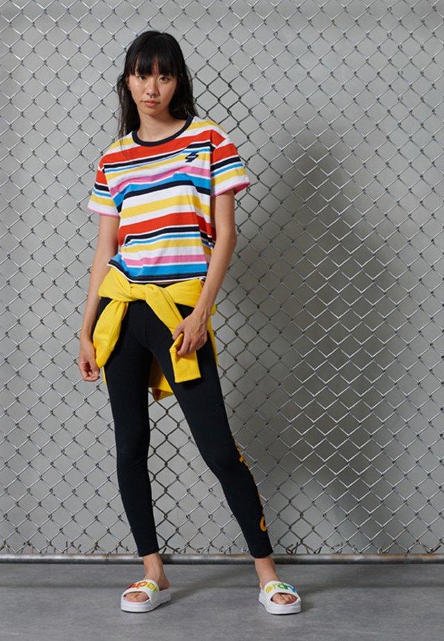 BOXY - Basic T-shirt - multi stripe