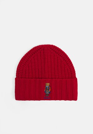OUTDOOR BEAR HAT - Huer - red