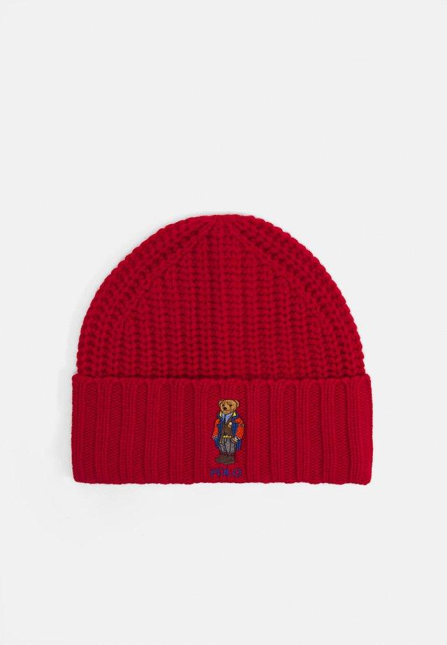 OUTDOOR BEAR HAT - Czapka - red
