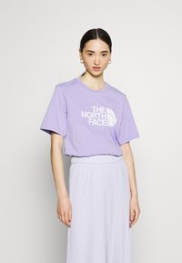 The North Face - EASY TEE - T-shirts med print - sweet lavender - 0