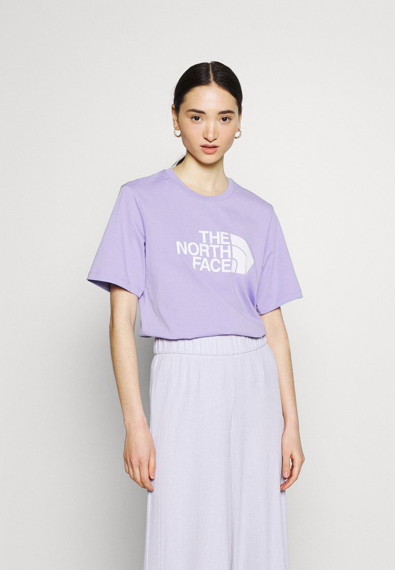 The North Face - EASY TEE - T-shirts med print - sweet lavender