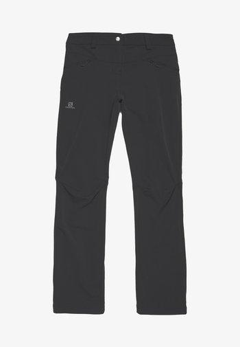 WAYFARER STRAIGHT WARM - Bukse - black