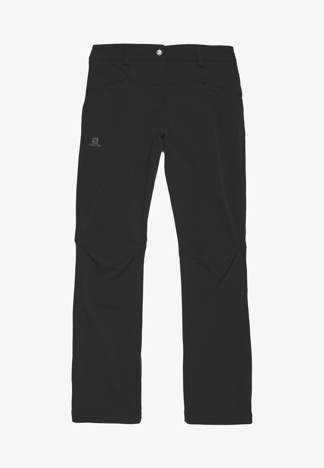 WAYFARER STRAIGHT WARM - Pantalon classique - black