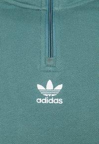 adidas Originals - TREFOIL UNISEX - Sweatshirt - hazy emerald - 6