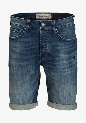 SOLOMON  - Denim shorts - mid blue