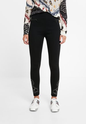 JENY - Leggings - Trousers - black