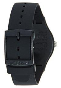 Swatch - SILVER GLAM - Zegarek - black - 2
