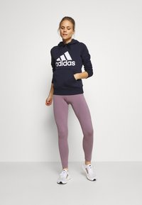 adidas Performance - Bluza z kapturem - legend ink - 1