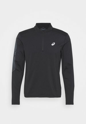 ICON WINTER ZIP - Langærmede T-shirts - performance black/carrier grey