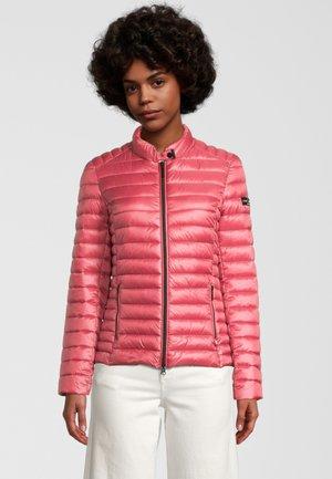 MIT STEHKRAGEN - Winter jacket - dark rose