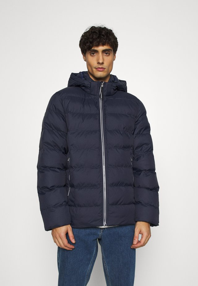 Winter jacket - evening blue