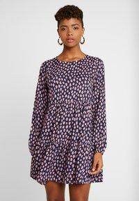 Monki - TACY DRESS - Day dress - dark blue - 0