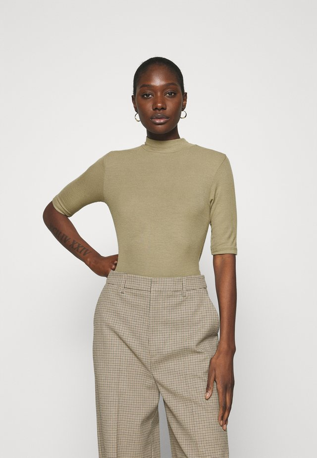 KROWN - T-shirt basic - light khaki
