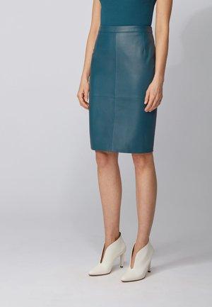 SELTONI - Pencil skirt - dark blue