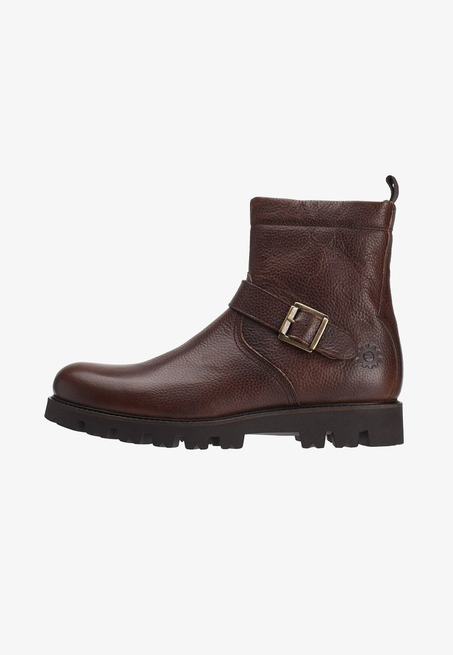 AXLE BURNISHED - Stivaletti texani / biker - brown
