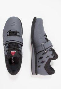 Reebok - LIFTER PR TRAINING SHOES - Sports shoes - ash grey/black/white - 1