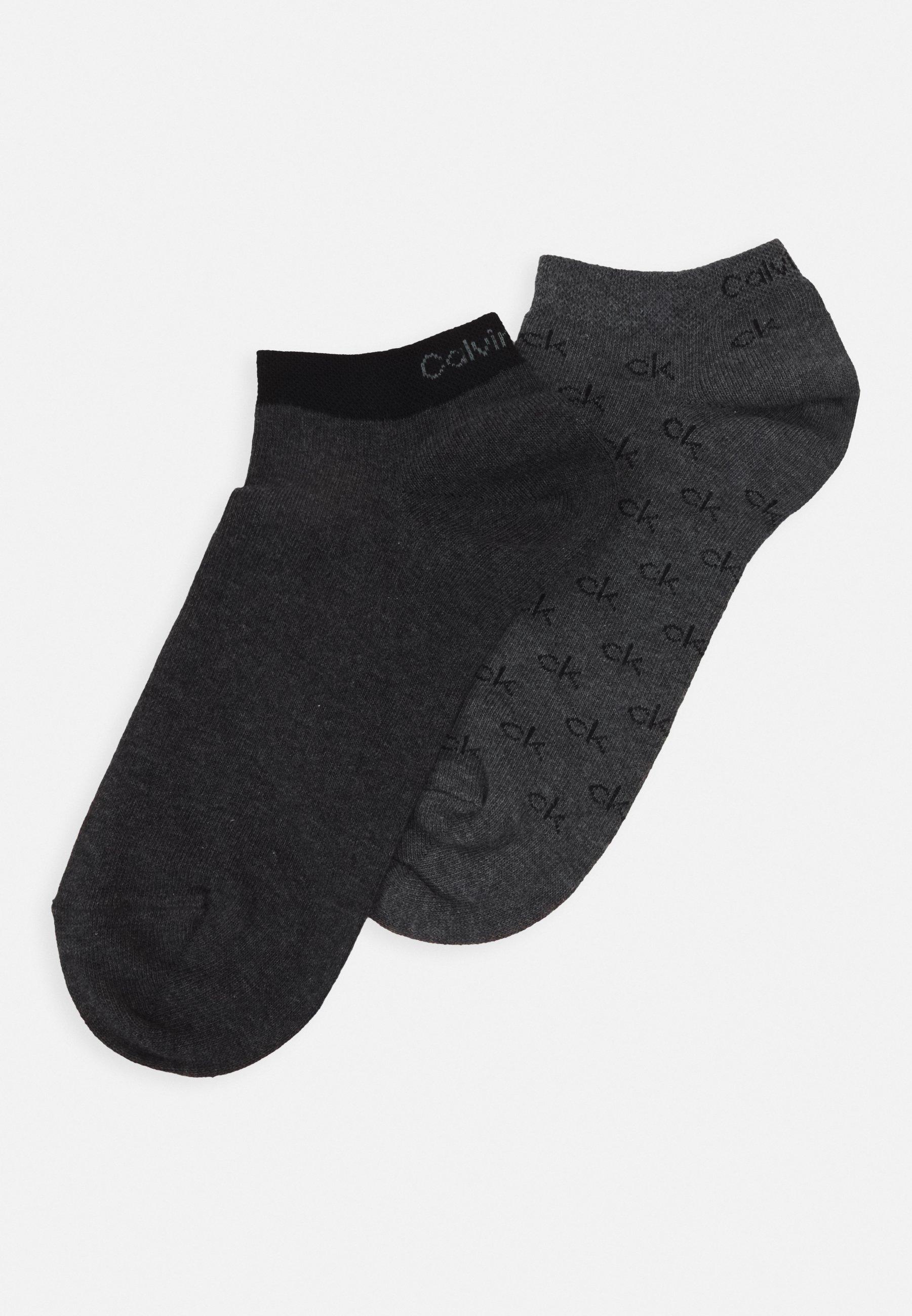 Men LINER ALL OVER LOGO EDUARDO 2 PACK - Socks