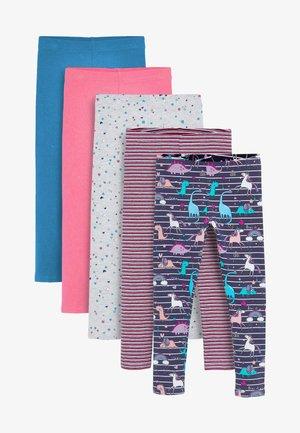 5 PACK - Leggings - Trousers - blue