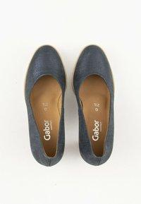 Gabor Comfort - Klassieke pumps - blue - 1