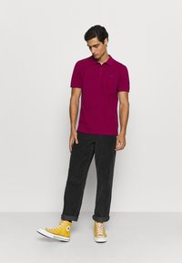 s.Oliver - KURZARM - Polo shirt - pink - 1