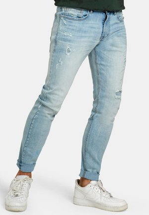 LEROY SKINNY BINC L32 - Jeans Skinny Fit - white