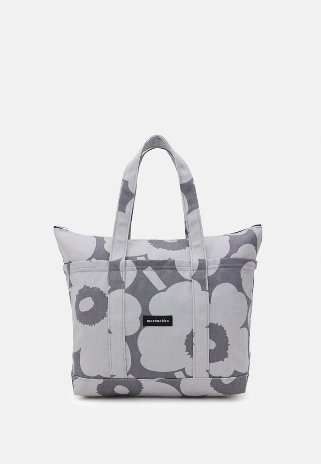 UUSI MINI MATKURI PIENI UNIKKO BAG - Shopping bag - grey/light grey