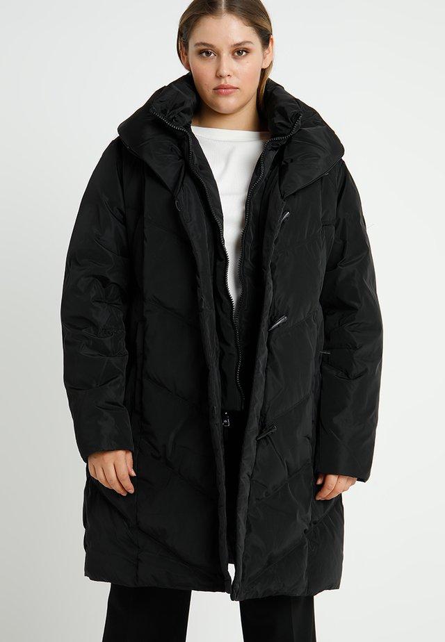 FINISH PILLOW COLLAR - Down coat - black