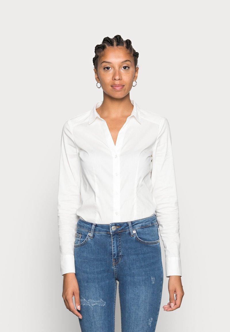 Vero Moda - VMLADY - Button-down blouse - snow white