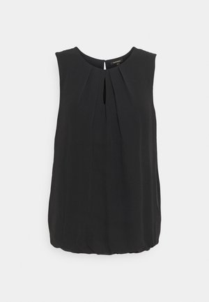 BLOUSE NON SLEEVE - Top - black
