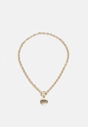 CHUNKY T BAR PENDANT - Necklace - gold-coloured