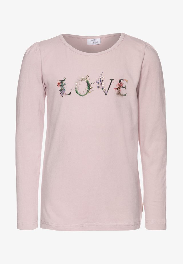 ANNSOFI - Long sleeved top - light pink