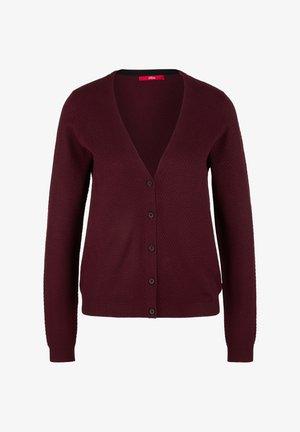 Cardigan - dark red
