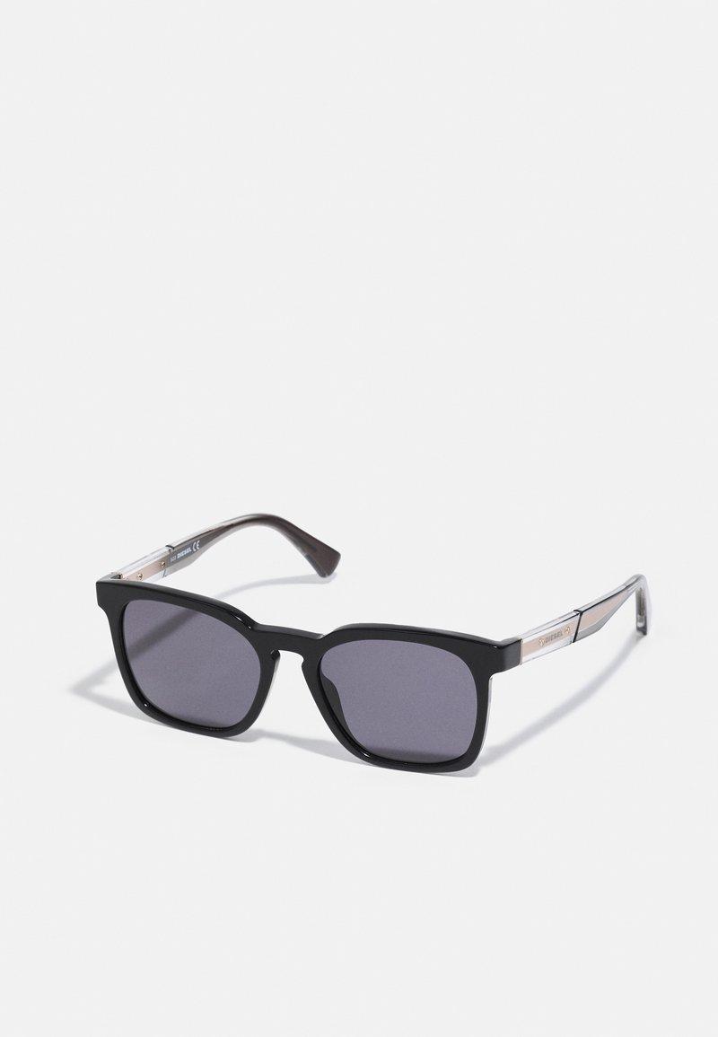 Diesel - Sunglasses - shiny black/smoke
