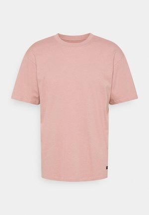 OVERSIZE PLAIN SYNERGY - T-shirts - woodrose