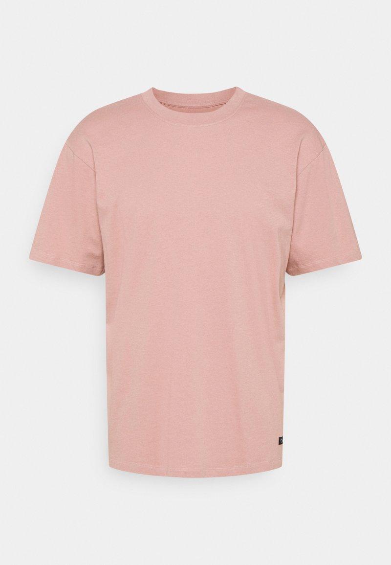 Edwin - OVERSIZE PLAIN SYNERGY - T-shirt basic - woodrose
