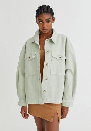 Leichte Jacke - light green