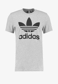 adidas Originals - ORIGINAL TREFOIL - T-shirt med print - grey - 4