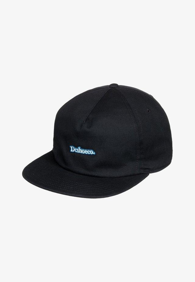 HILLTOP - Cap - black