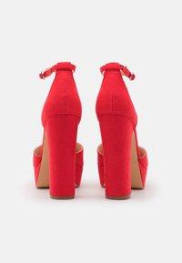 Even&Odd - High heels - red - 3