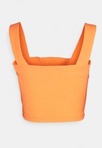 Glamorous - CROP WITH LOW STRAIGHT NECKLINES AND WIDE STRAPS - Topper - orange - 1