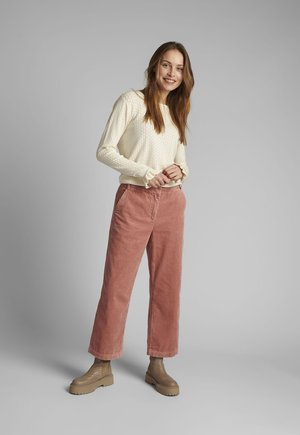 Trousers - ash rose