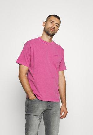 TAB VINTAGE TEE UNISEX - T-shirts - dahlia mauve