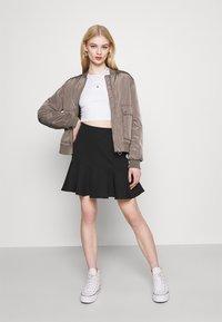 Trendyol - Mini skirt - black - 1