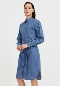 Finn Flare - Denim dress - blue - 3