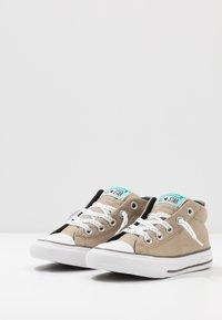 Converse - CHUCK TAYLOR ALL STAR STREET - Zapatillas altas - khaki/malachite/black - 3