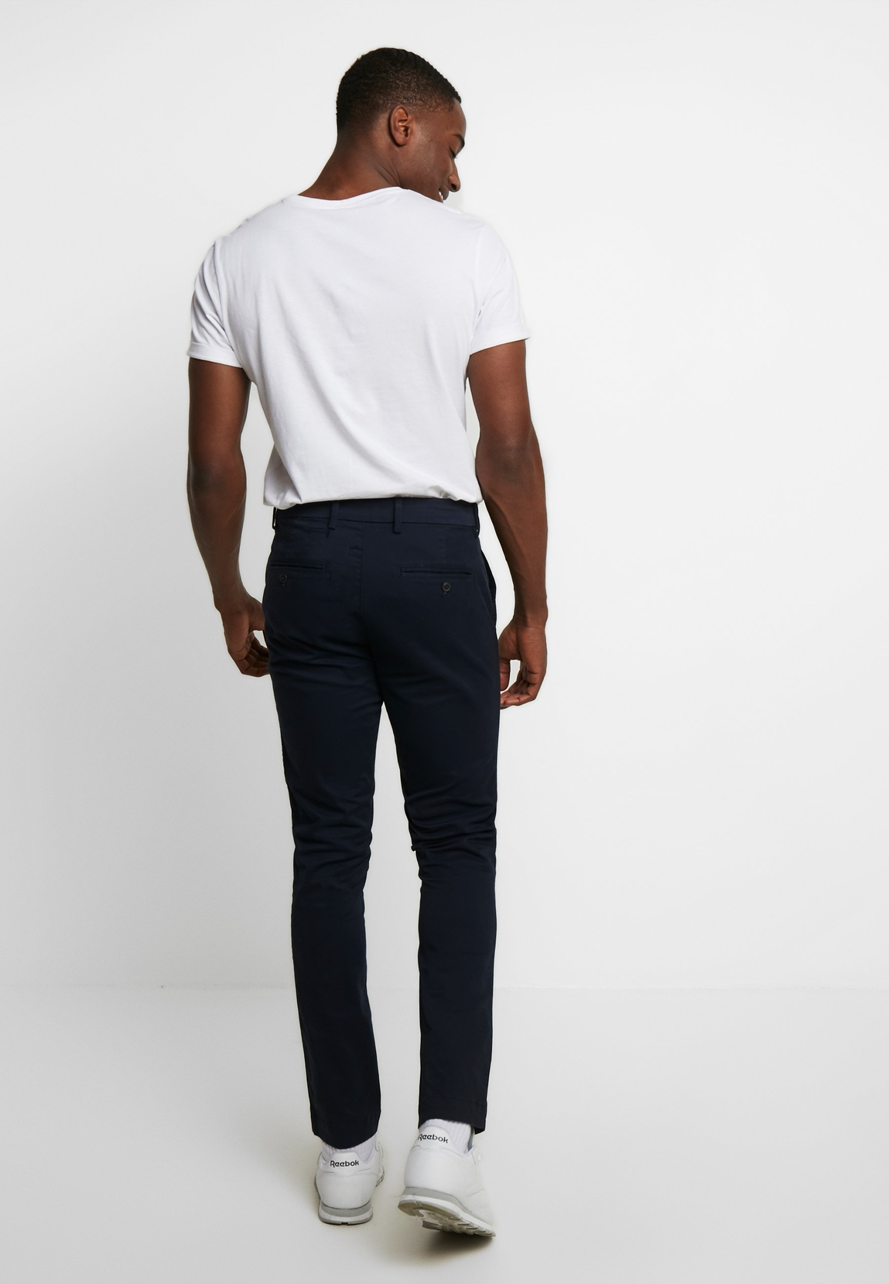 Factory Price Low Cost Men's Clothing GAP ESSENTIAL Chinos new classic navy UXayLOtAx IDVMzkFJ6