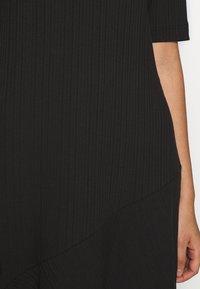 Monki - HALLEY DRESS - Jerseykjole - black - 5