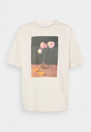 TOVI TEE - T-shirts med print - off-white