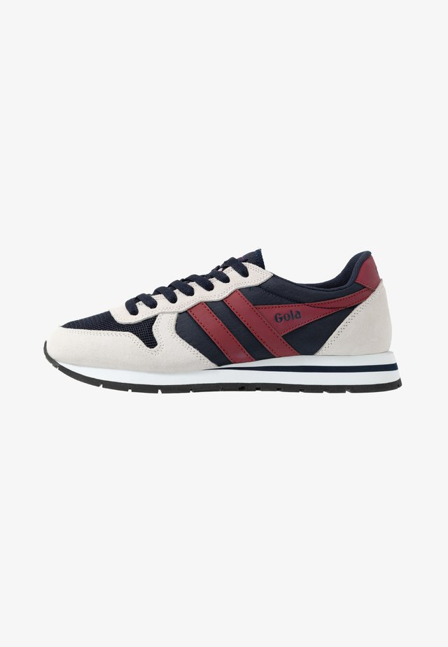 DAYTONA - Trainers - navy/white/deep red